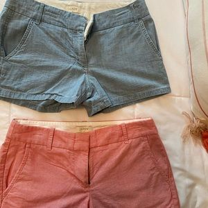 Set of two J.Crew Shorts